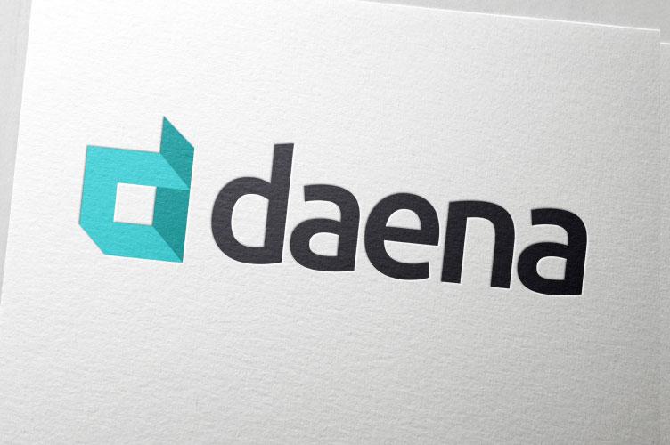 daena manufacturers logo design