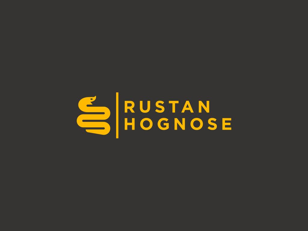 rustan hognose snake breeder logo