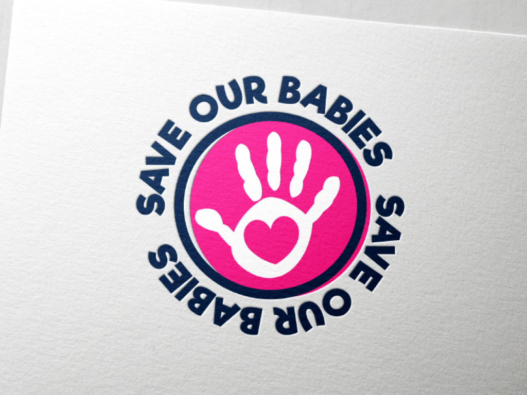 save our babies charity logo