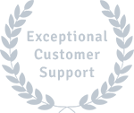 Exceptional customer support
